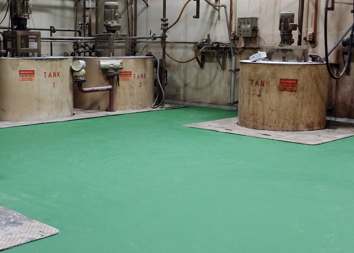 Trion Industrial Services - specialized in Epoxy Floor